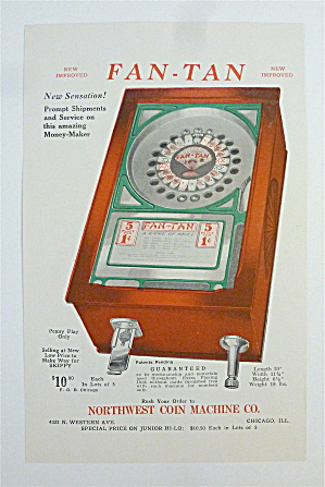 1932 Northwest Coin Machine with Fan-Tan (Image1)