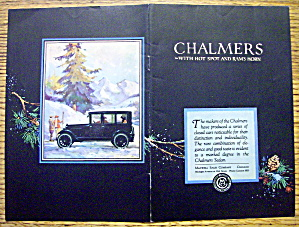 1913 Chalmers With The Sedan