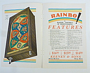 1932 Keeney & Sons with Rainbo Game (Image1)