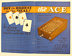 1932 Ace Manufacturing with The Ace Game (Image1)