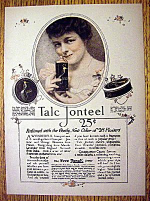 1918 Talc Jonteel with Lovely Woman Holding Talc (Image1)