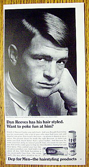 1968 Dep for Men with Dallas Cowboys' Dan Reeves (Image1)