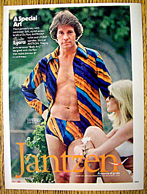 1977 Jantzen Swim Wear with Man in Swim Briefs (Image1)