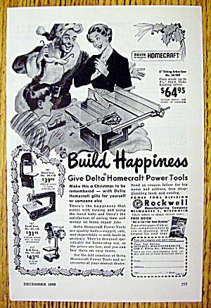 1949 Delta Homecraft Power Tools with Happy Man (Image1)