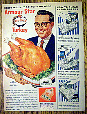 1955 Armour Star Turkey With Steve Allen