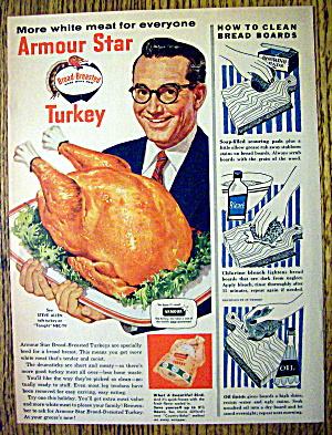 1955 Armour Star Turkey with Steve Allen (Image1)