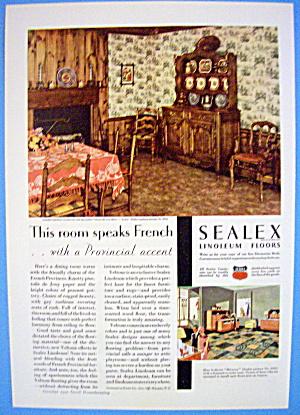 1931 Sealex Linoleum Floors w/ Provincial Accent (Image1)