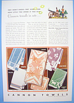 1931 Cannon Towels with Scotty Dog & More (Image1)