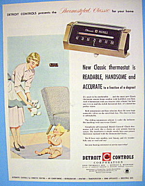 1955 Detroit Controls with Woman & Baby (Image1)