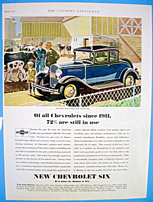1931 Chevrolet with New Chevy Six (Image1)