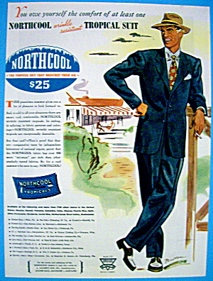 1946 Northcool Tropical Suit with Man by Fenton (Image1)