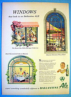 1953 Ballantine Ale with Windows (Image1)