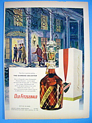 1953 Old Fitzgerald Whiskey with Group of Men (Image1)