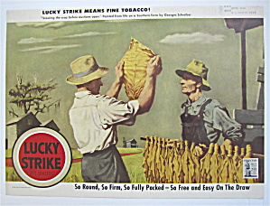 1943 Lucky Strike Cigarettes By Georges Schreiber (Image1)