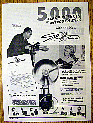 1946 Flash Tronic with June Haver (3 Little Girls) (Image1)