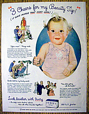 1944 Ivory Soap with Baby Smiling (Image1)