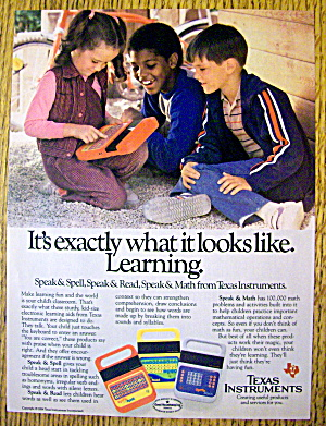 1984 Texas Instruments With Speak & Spell