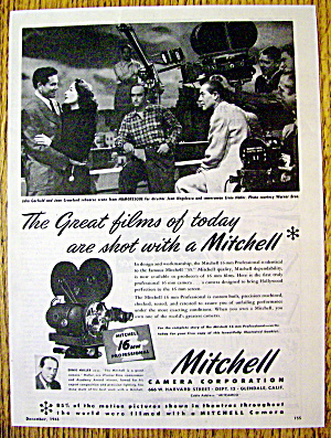 1946 Mitchell Camera with John Garfield & Joan Crawford (Image1)