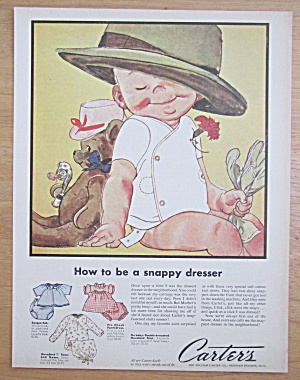 1956 Carter's Snap Fastened Shirts w/ Baby & Dad's Hat (Image1)