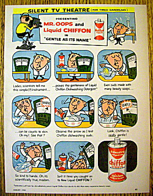 1958 Chiffon Liquid Detergent with Mr. Oops (Image1)