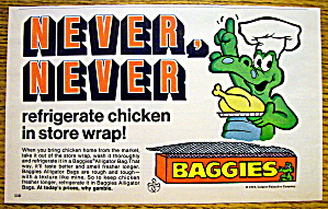 1973 Baggies with The Baggies Alligator Holding Chicken (Image1)