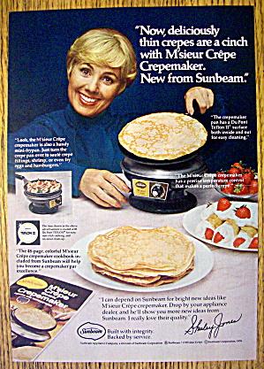 1977 Sunbeam Crepemaker with Shirley Jones (Image1)