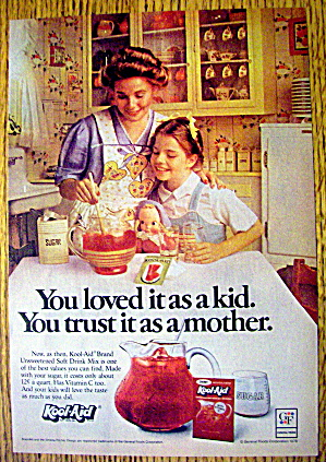 1978 Kool Aid with Girl Watching Mother Make Kool Aid (Image1)
