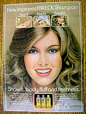 1978 Breck Shampoo with Woman Smiling (Image1)