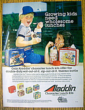 1983 Aladdin Lunch Kit W/strawberry Shortcake & Masters