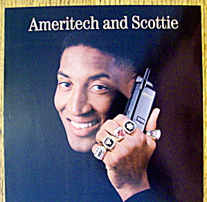 1997 Ameritech with Chicago Bull's Scottie Pippen (Image1)