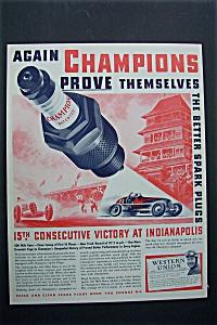 1938  Champion  Spark  Plugs (Image1)