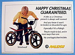1986 Raleigh Streetwolf With Boy And The Bicycle