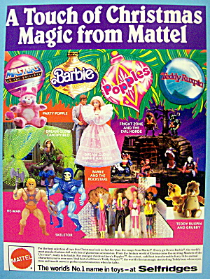 1986 Mattel Toys with He-man, Skeletor & More (Image1)
