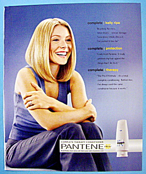 2002 Pantene Shampoo With Kelly Ripa