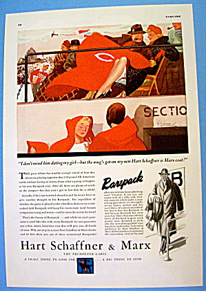 1936 Hart Schaffner and Marx with Man & Rarepack Coat (Image1)