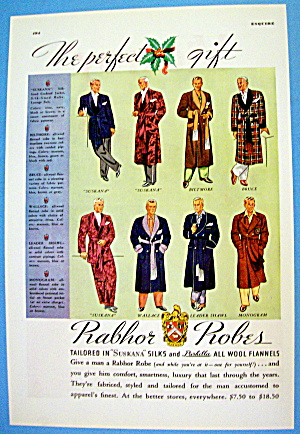 1936 Rabhor Robes with Eight Different Robes (Image1)