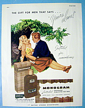 1945 Monogram Formen with man and woman (Image1)