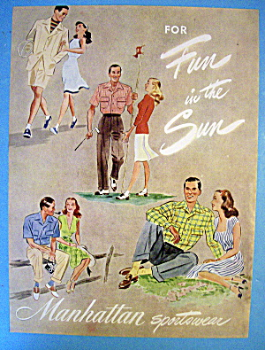 1945 Manhattan Sportswear with Four Couples (Image1)