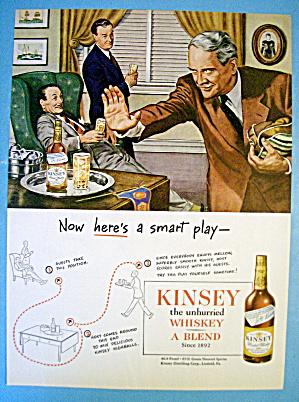 1945 Kinsey Whiskey with Men Talking Football (Image1)