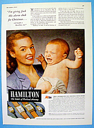 1945 Hamilton Watch with Woman & Crying Baby (Image1)