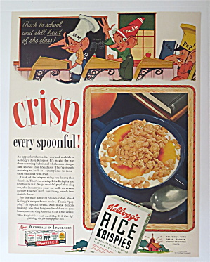 1941 Kellogg's Rice Krispies with Snap, Crackle & Pop (Image1)