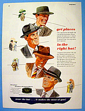 1946 Recognized Hatter with Men Wearing Hats (Image1)