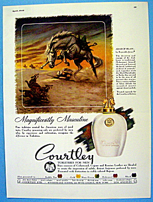 1946 Courtley Toiletries with Arab of Islam (Image1)