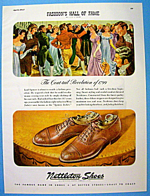1947 Nettleton Shoes with Coat Tail Revolution Of 1799 (Image1)