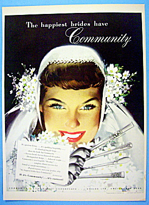 1948 Community Silverplate with Lovely Bride (Image1)