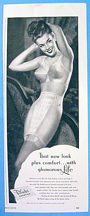 1948 Formfit with Woman in Bra and Girdle (Image1)