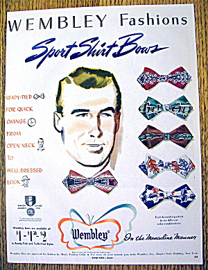 1951 Wembley Fashions with Sport Shirt Bows (Image1)