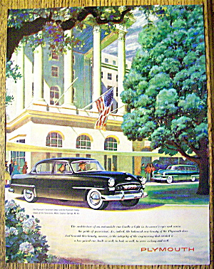 1953 Plymouth With The Sedan & Savoy