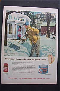 1951 Maxwell House Coffee
