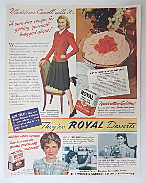 1940 Royal Desserts w/Madeleine Carroll & Norma Nelson (Image1)
